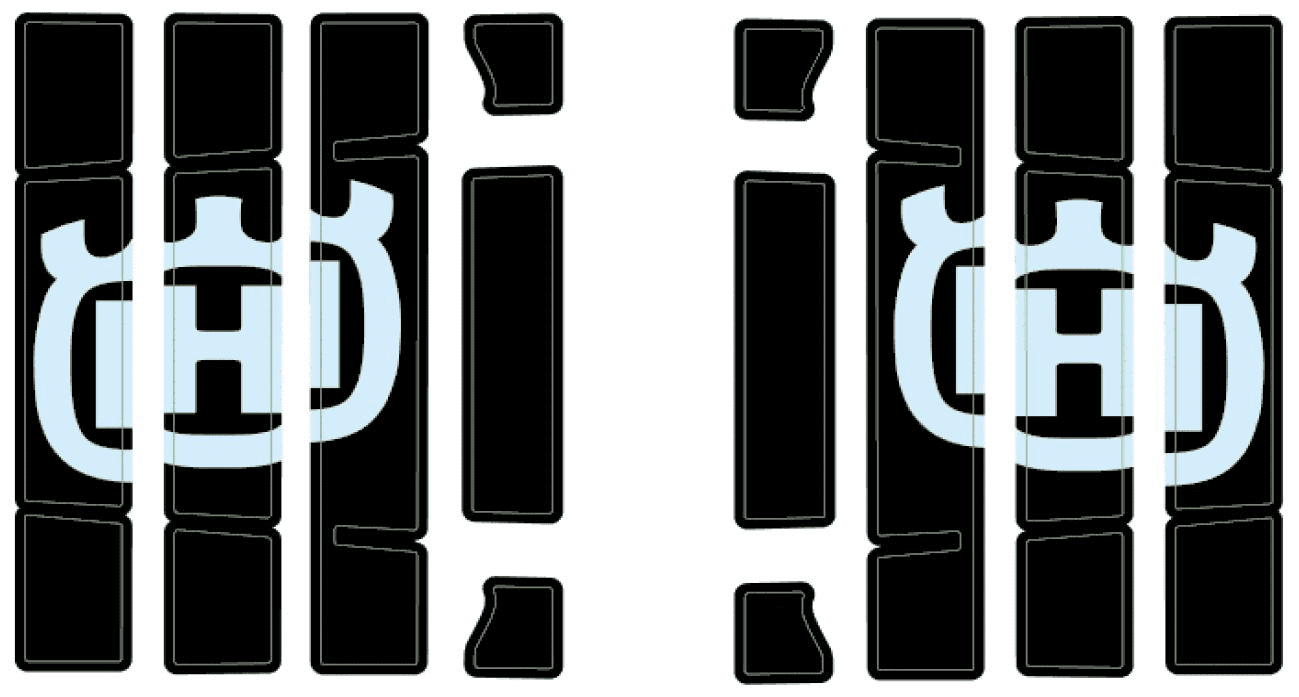 25108999000 RADIATOR PROTECTION STICKER KIT