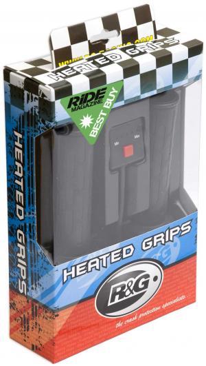 R&G heated grips 22mm bars - Hansvatverwarming Huqvarna