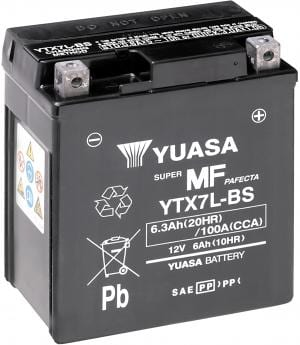 Batterij Yuasa YTX7L-BS KTM Duke 125