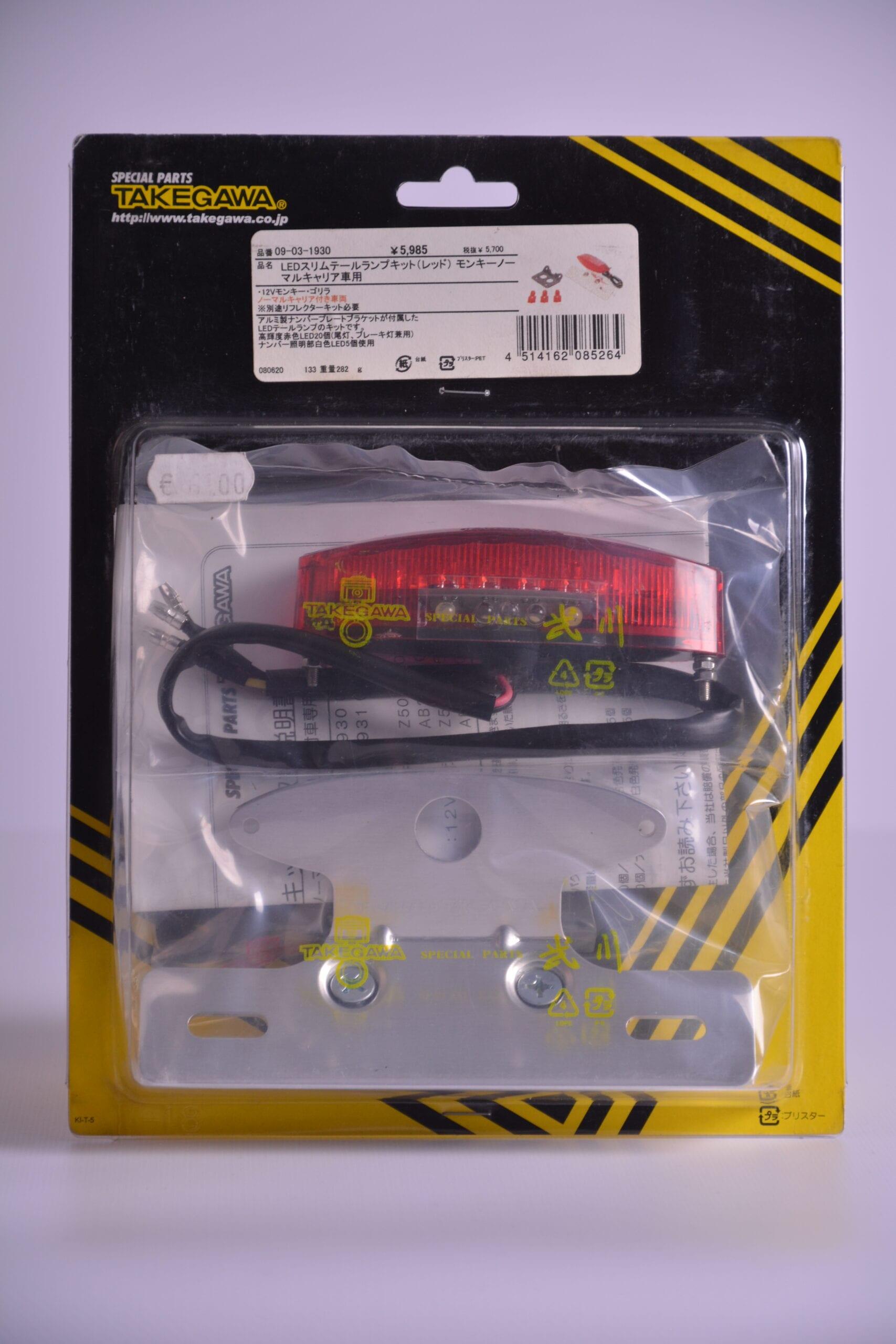 Led slim tail lamp kit Takegawa - 09-03-1930