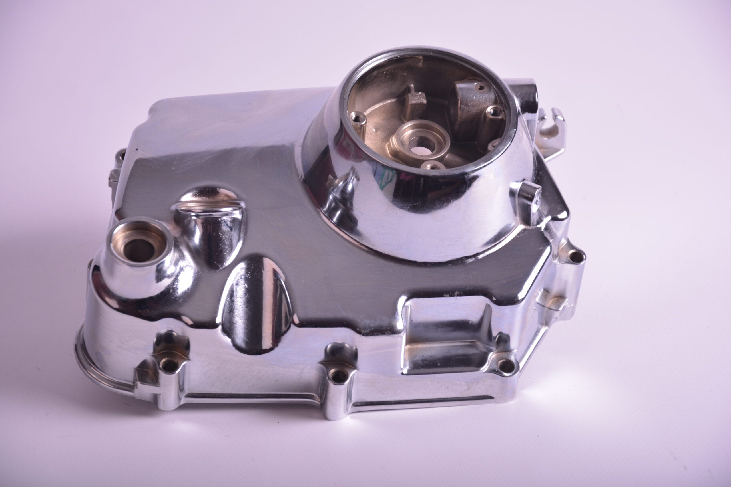 Chroom outer manual clutch cover 50cc