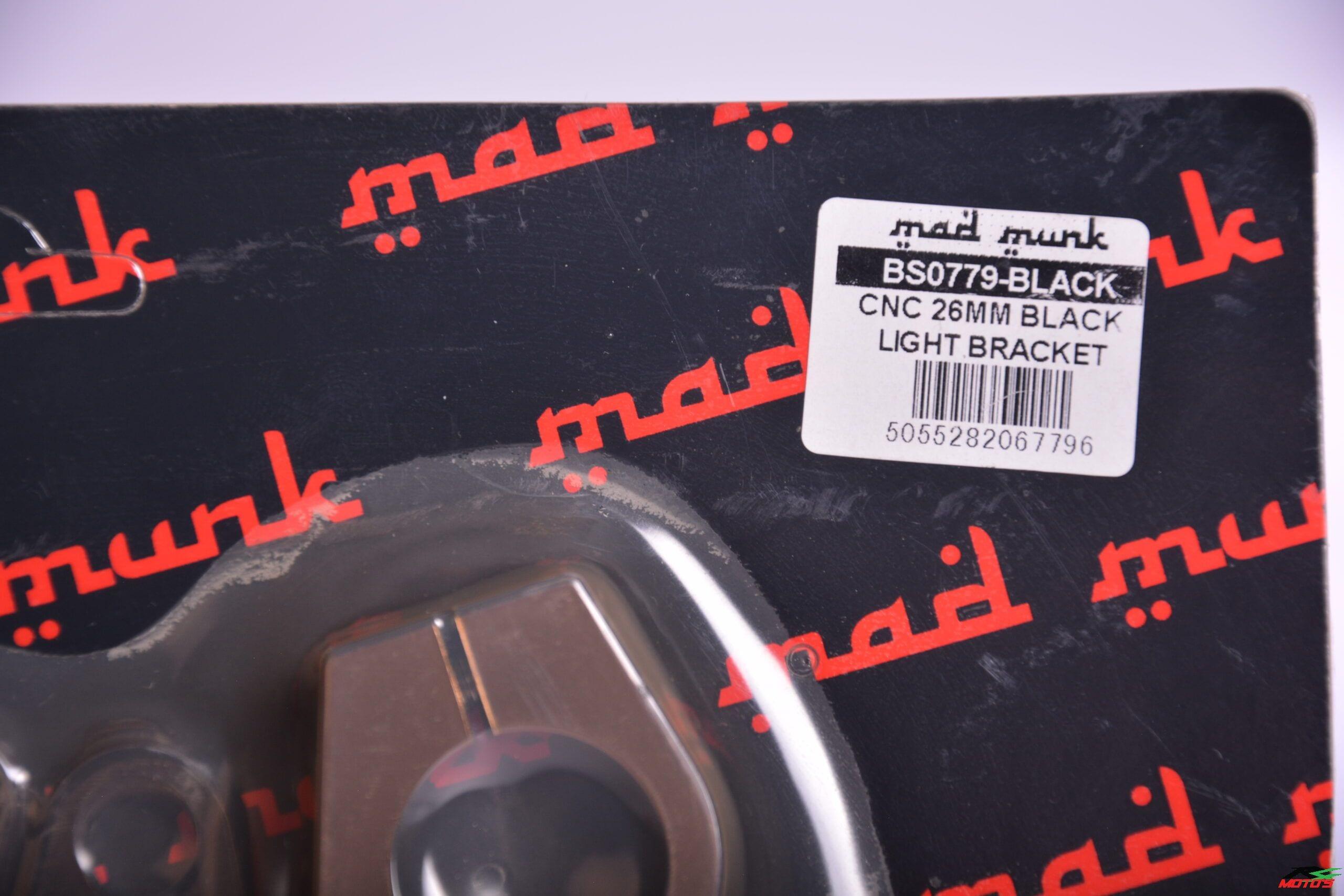 Alloy CNC 26mm light brackets - BS0779