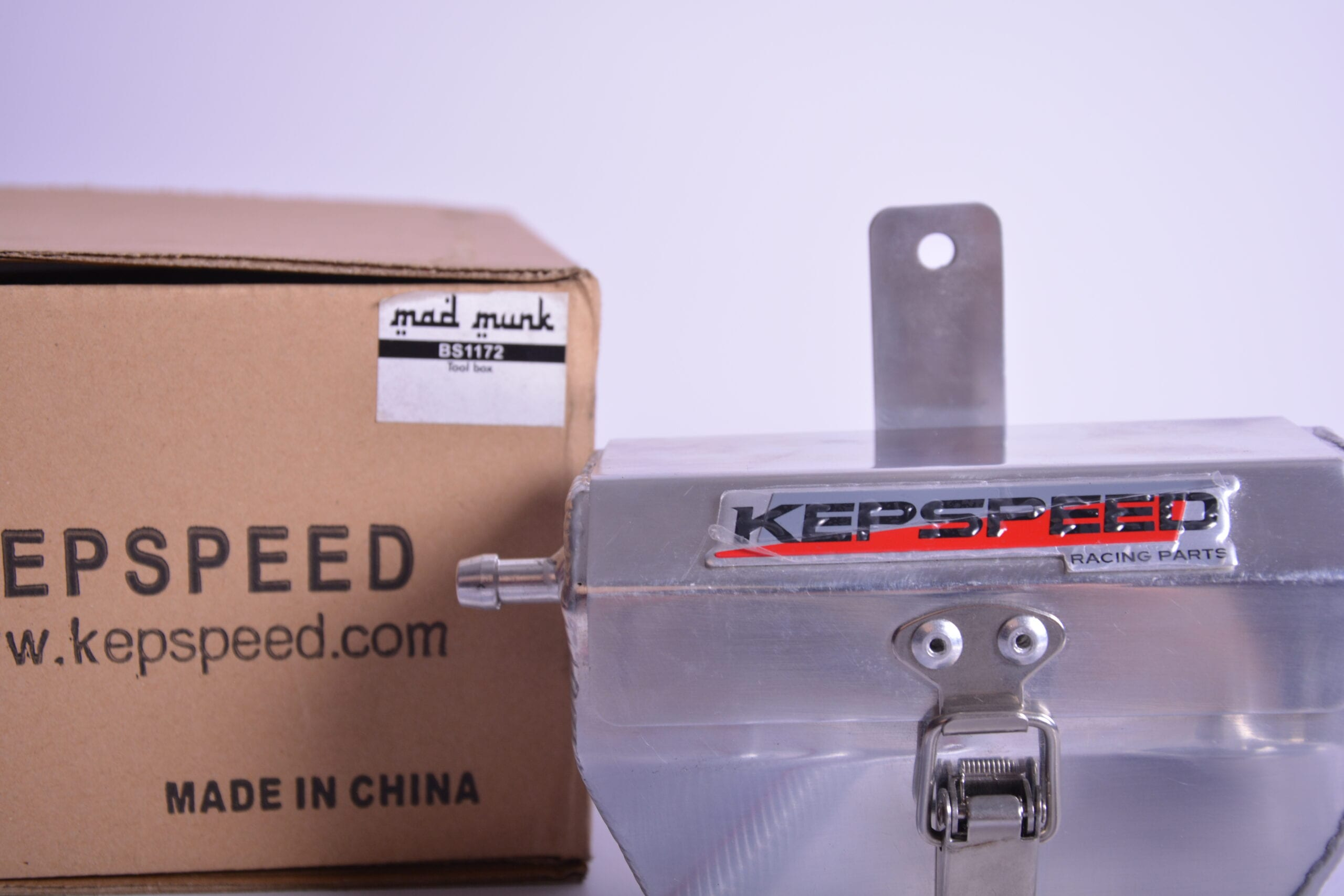 Kepspeed tools box and breather - BS1172
