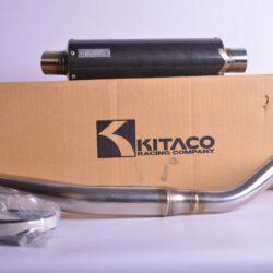 Kitaco Race Down Muffler/carbon – 540-101-4830