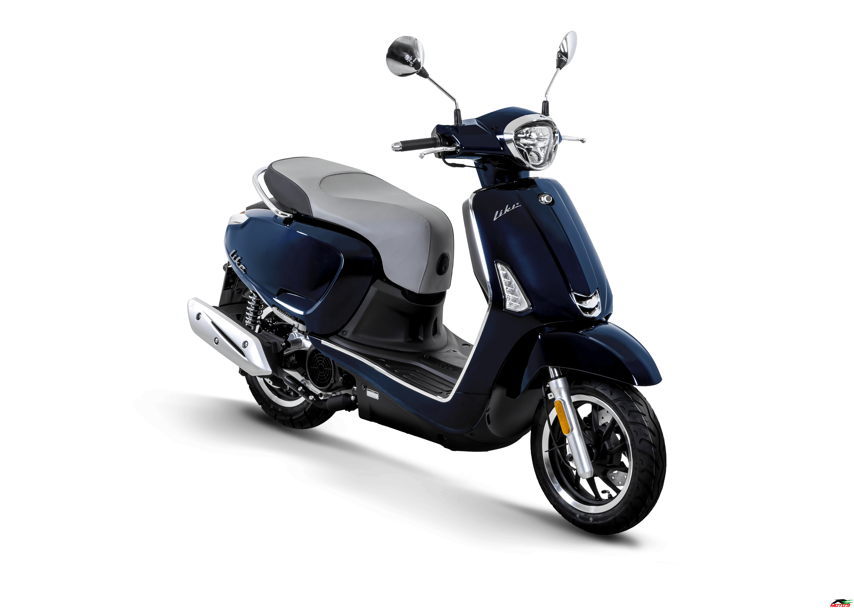 Kymco New Like - R4 Moto's