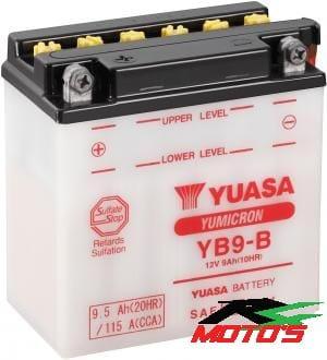 Batterij Yuasa YB9-B